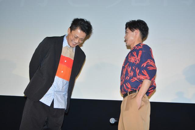 戸塚純貴、小栗旬/「銀魂2-世にも奇妙な銀魂ちゃん-」舞台挨拶