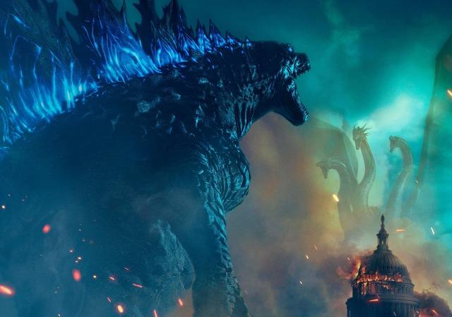 『ゴジラ キング・オブ・モンスターズ』メインビジュアル(C) 2019 Legendary and Warner Bros. Pictures. All Rights Reserved.