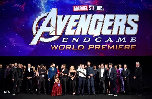 『アベンジャーズ/エンドゲーム』ワールドプレミア (C)Marvel Studios 2019