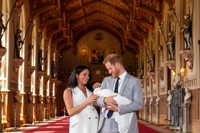 メーガン妃、ヘンリー王子 (C) Getty Images