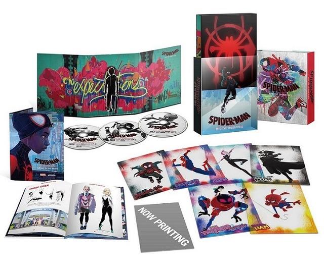 『スパイダーマン:スパイダーバース』プレミアム・エディション (c) 2018 Sony Pictures Animation Inc. All Rights Reserved. | MARVEL and all related character names: (c) & TM 2019 MARVEL.