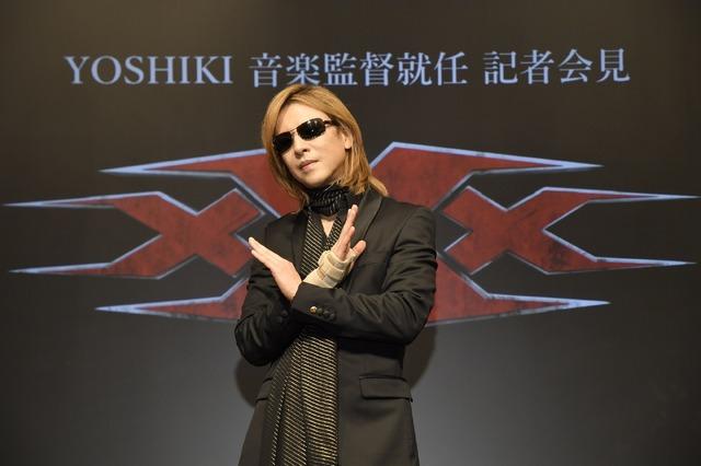 『xXx 4』音楽監督就任の記者会見