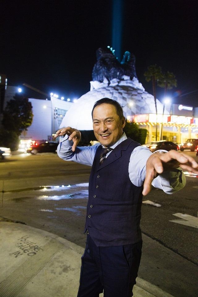 『ゴジラ キング・オブ・モンスターズ』ワールドプレミアイベント/渡辺謙 ロサンゼルス模様