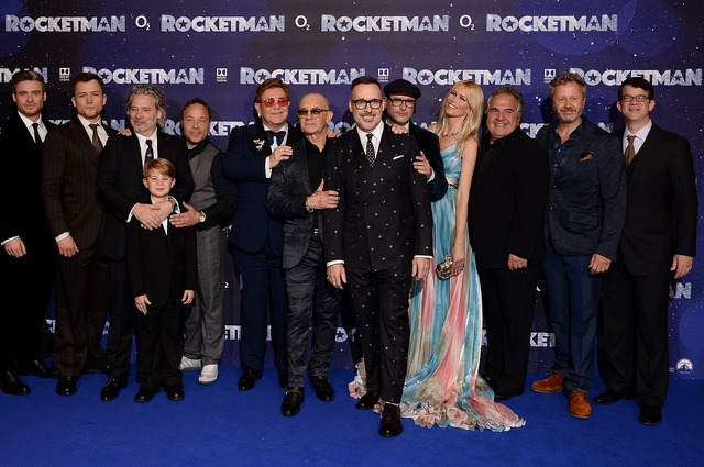 『ロケットマン』ロンドンプレミア (C)2018 Paramount Pictures. All rights reserved.