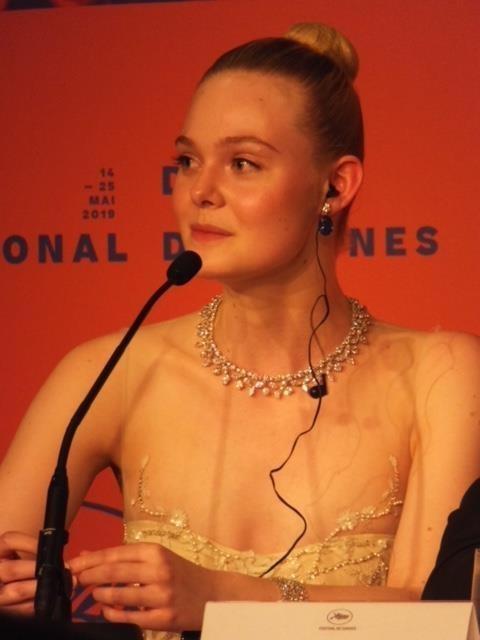 エル・ファニング「第72回カンヌ国際映画祭」
