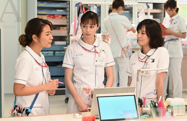 「白衣の戦士!」第7話  (C) NTV