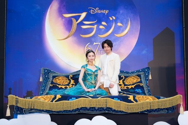 『アラジン』大阪プレミア(C)2019 Disney Enterprises, Inc. All Rights Reserved.