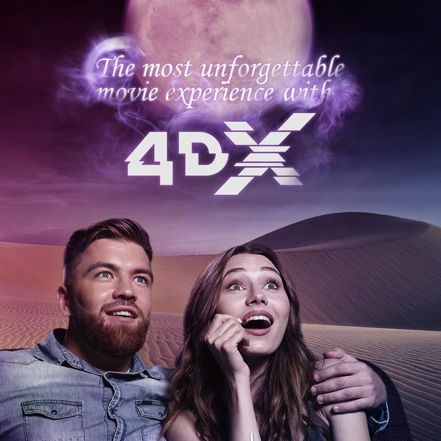 『アラジン』4DXオリジナル・ビジュアル(C)2018 Disney Enterprises, Inc. All Rights Reserved.