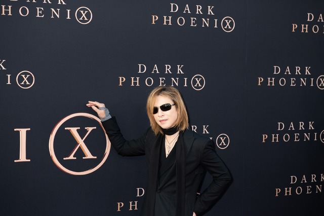 YOSHIKI『X-MEN:ダーク・フェニックス』LAプレミア (C) 2019 Twentieth Century Fox Film Corporation