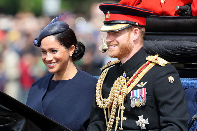 メーガン妃も、ヘンリー王子 (C) Getty Images.