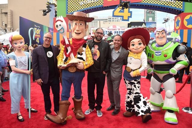 『トイ・ストーリー4』ワールドプレミア(C)2019 Disney/Pixar. All Rights Reserved.