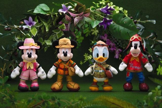 ぬいぐるみバッジ 各2,200円☆(C) Disney