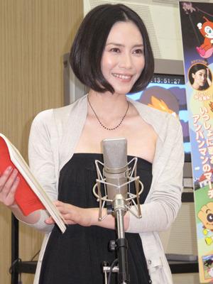 『それいけ!アンパンマン ブラックノーズと魔法の歌』アフレコ photo:Yoko Saito