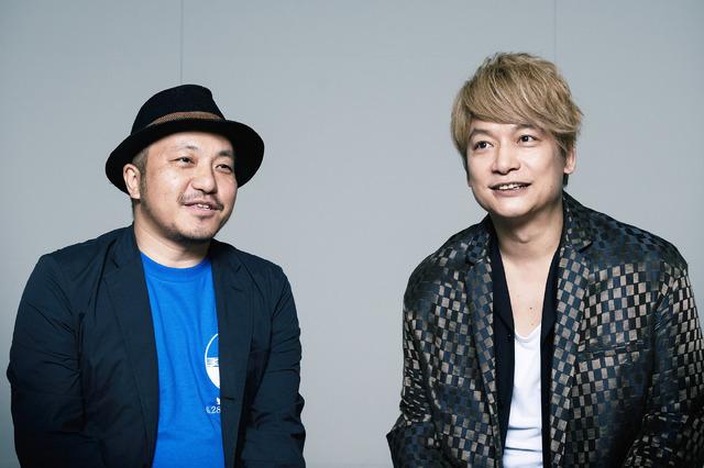 白石和彌監督×香取慎吾『凪待ち』/photo:Jumpei Yamada