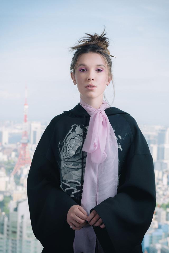 ミリー・ボビー・ブラウン「ストレンジャー・シングス 未知の世界」/photo:Jumpei Yamada