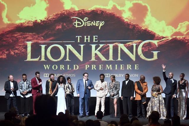『ライオン・キング』L.A.ワールドプレミア(C) 2019 Disney Enterprises, Inc. All Rights Reserved.