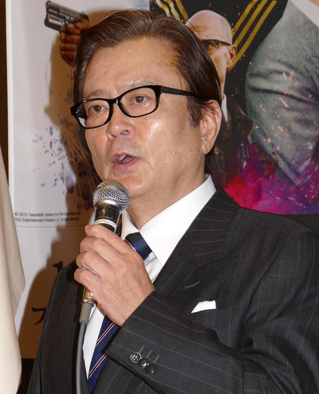 大和田伸也/『キングスマン』のBlu-ray&DVD発売イベント