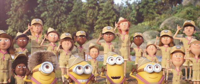 『ミニオンのキャンプで爆笑大バトル』 (C) Universal Studios