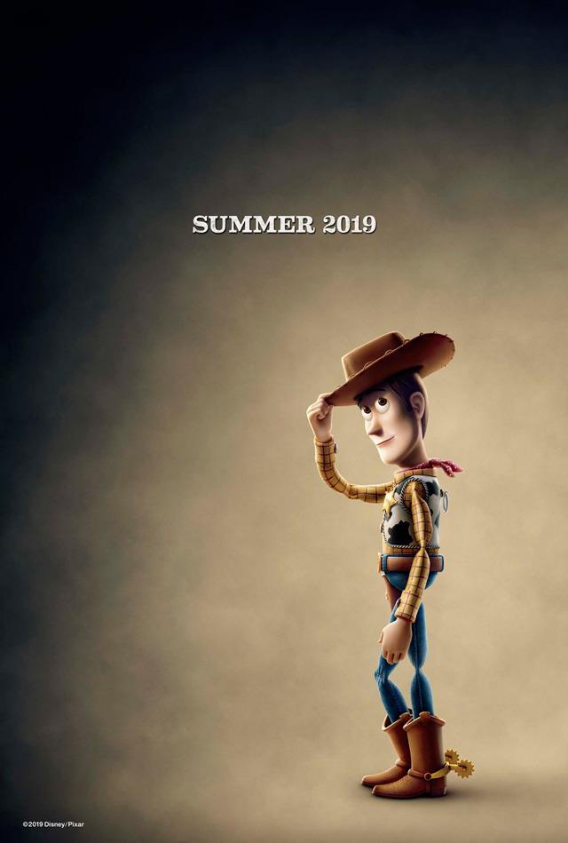 ウッディ『トイ・ストーリー4』 (C)2018 Disney/Pixar. All Rights Reserved.