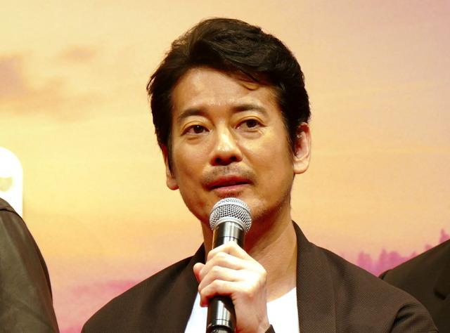ディズニー/ピクサー最新作「トイ・ストーリー4」来日イベント ウッディ役の唐沢寿明