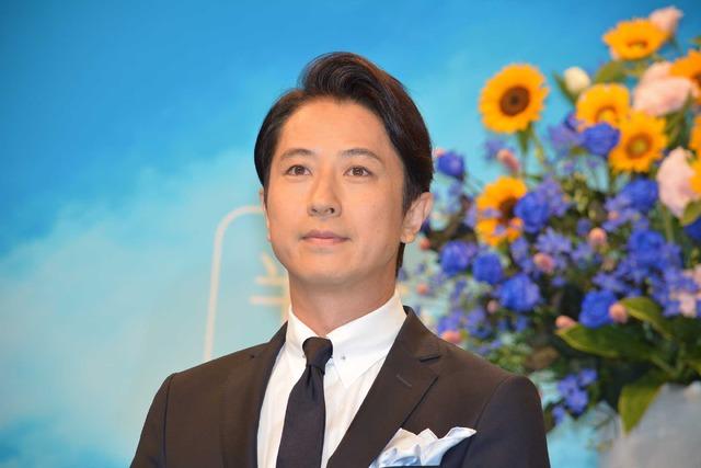 谷原章介/連続テレビ小説「半分、青い。」出演者発表会見
