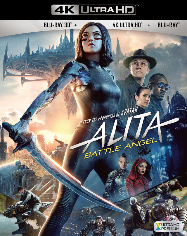 『アリータ:バトル・エンジェル』4K ULTRA HD (C)2019 Twentieth Century Fox Home Entertainment LLC. All Rights Reserved.