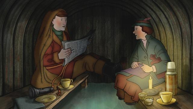 『エセルとアーネスト ふたりの物語』(C) Ethel & Ernest Productions Limited, Melusine Productions S.A., The British Film Institute and Ffilm Cymru Wales CBC 2016