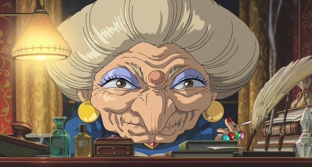 『千と千尋の神隠し』-(C) 2001 Studio Ghibli・NDDTM