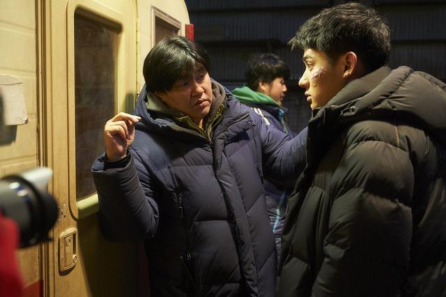 『感染家族』メイキング (C) 2019 Megabox JoongAng Plus M & Cinezoo, Oscar 10studio, all right