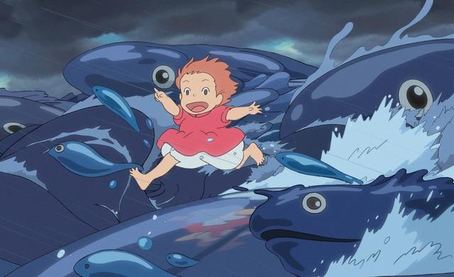 『崖の上のポニョ』(C)2008 Studio Ghibli・NDHDMT