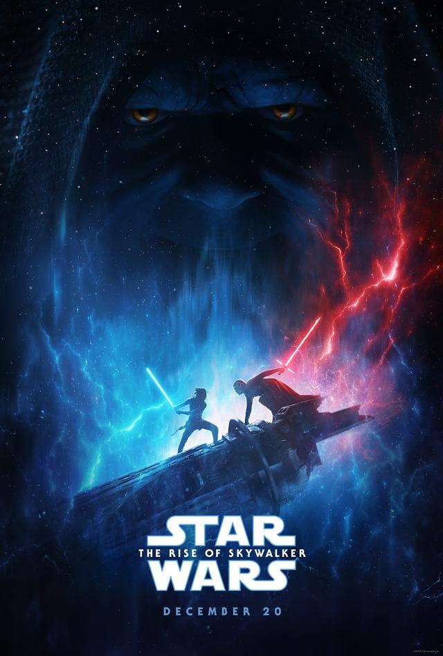 『スター・ウォーズ/スカイウォーカーの夜明け』USポスター (C)2019  Lucasfilm Ltd. All Rights Reserved.