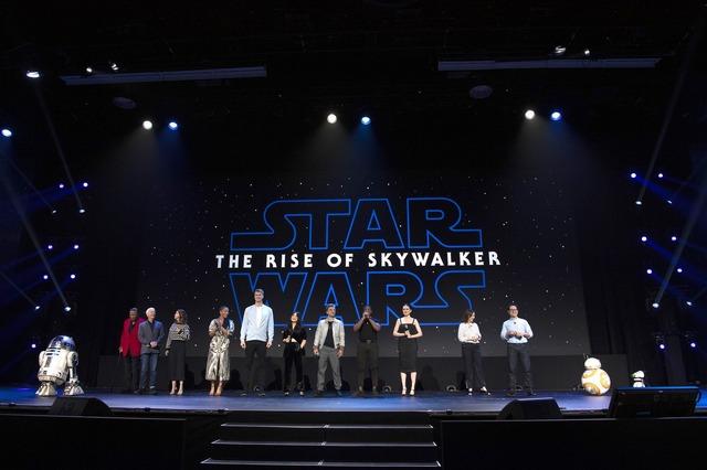 『スター・ウォーズ/スカイウォーカーの夜明け』D23Expo 2019 (C)2019  Lucasfilm Ltd. All Rights Reserved.
