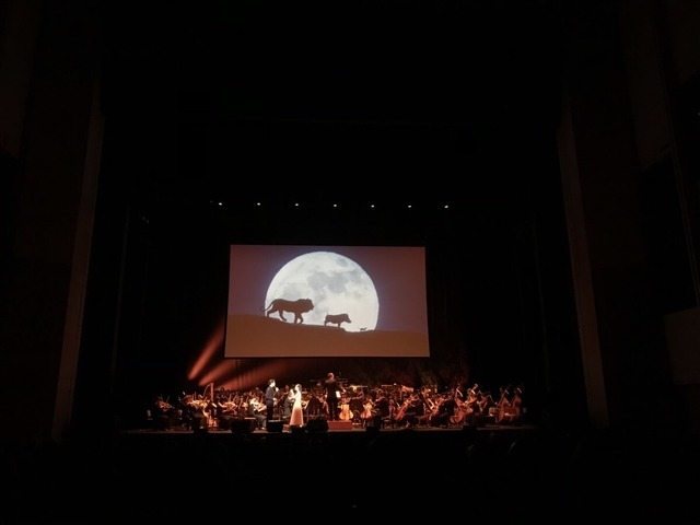 『ライオン・キング』ライブオーケストライベント