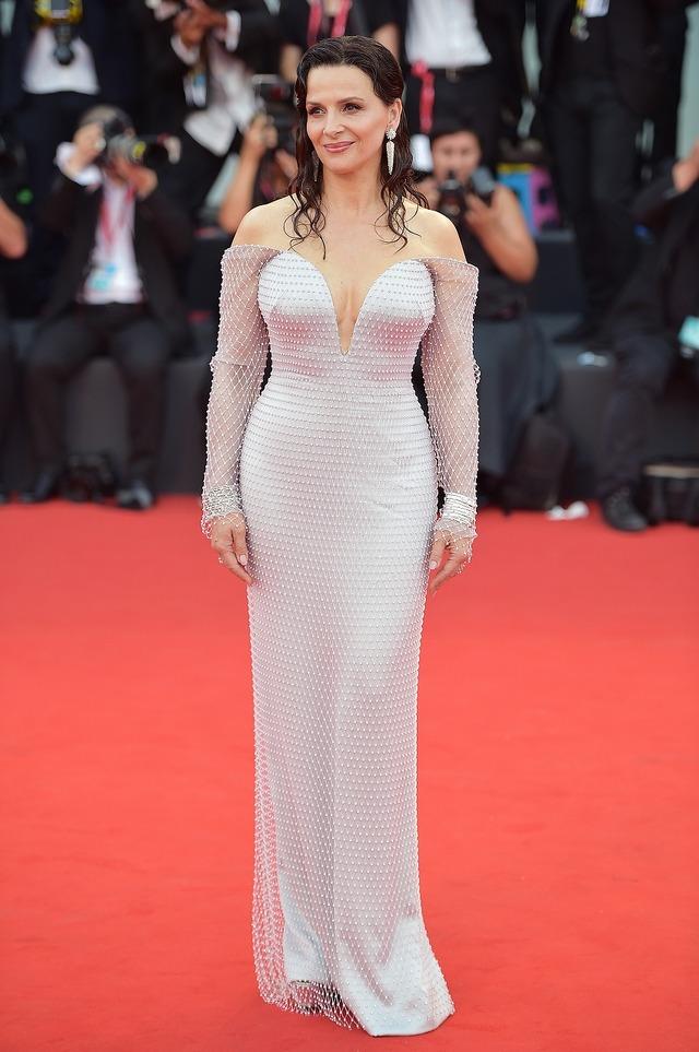 ジュリエット・ビノシュ『真実』第76回ヴェネチア国際映画祭(C)Getty Images