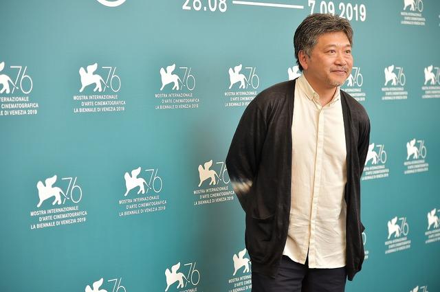 是枝裕和監督会見・フォトコール『真実』第76回ヴェネチア国際映画祭(C)Getty Images