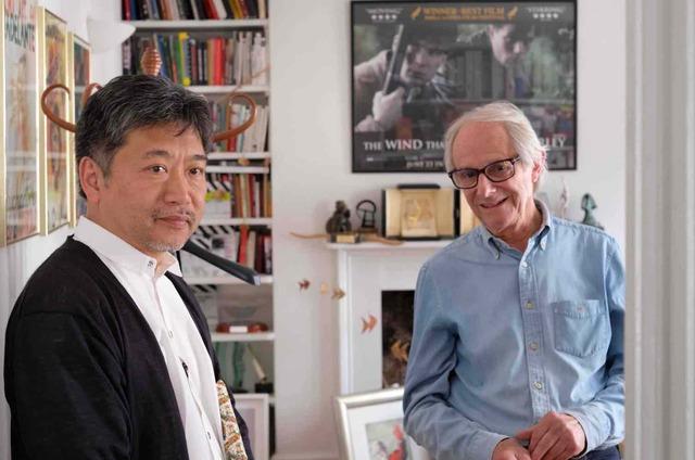 ケン・ローチ監督と是枝裕和監督対談