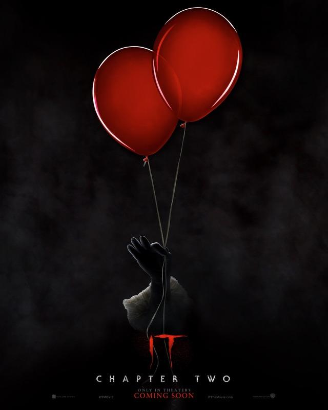 """US版ポスター『IT/イット THE END """"それ""""が見えたら、終わり。』"""