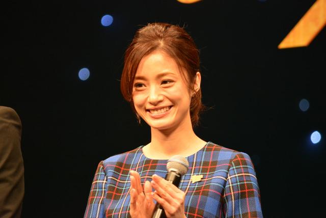 上戸彩/『名探偵コナン ゼロの執行人』完成披露舞台挨拶