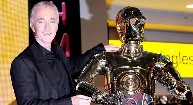 C‐3PO役のアンソニー・ダニエルズ-(C) Getty Images