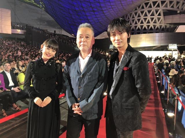 『楽園』釜山国際映画祭オープニングレッドカーペット(C) 2019「楽園」製作委員会