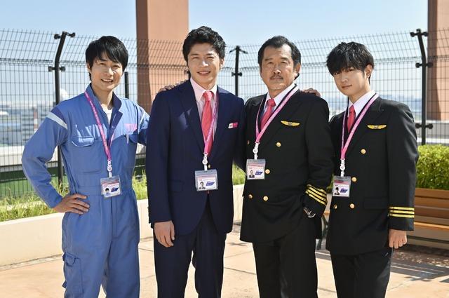 4ショット「おっさんずラブ-in the sky-」 (C)テレビ朝日