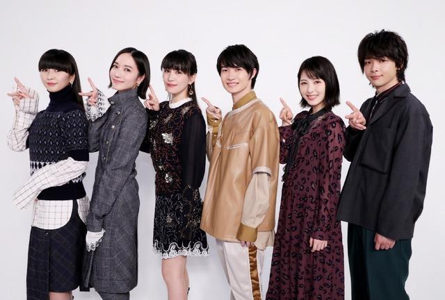 神木・浜辺・中村×Perfume『屍人荘の殺人』 (C)2019『屍人荘の殺人』製作委員会