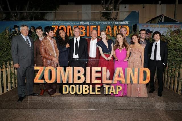 『ゾンビランド:ダブルタップ』ワールドプレミア