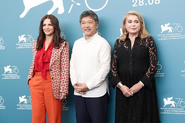 会見・フォトコール『真実』第76回ヴェネチア国際映画祭(C)Getty Images