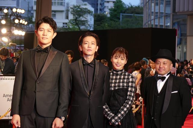 第32回東京国際映画祭オープニングセレモニー「ひとよ」