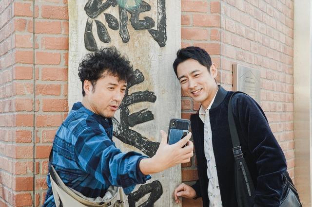 「小泉孝太郎&ムロツヨシ 自由気ままに2人旅」(C)フジテレビ