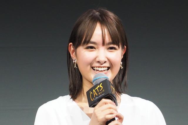 葵わかな『キャッツ』日本語吹替版製作発表会