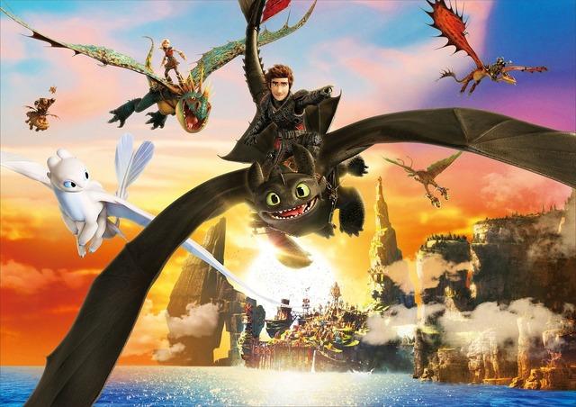 『ヒックとドラゴン 聖地への冒険』 (C) 2019 DreamWorks Animation LLC.  All Rights Reserved.