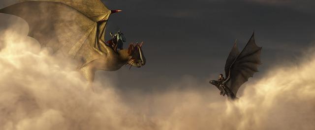 『ヒックとドラゴン2』 (C) 2014 DreamWorks Animation LLC.All Rights Reserved.