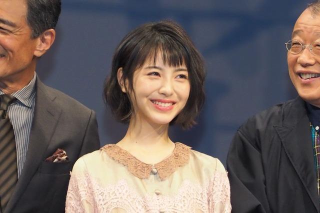 浜辺美波/映画『アルキメデスの大戦』完成披露試写会